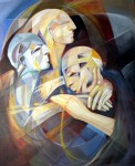 Obras de arte: America : Argentina : Cordoba : Unquillo : hombres de hielo