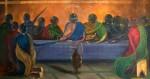Obras de arte: America : Rep_Dominicana : Maria_Trinidad-Sanchez : El_Caribe : La Ultima Cena