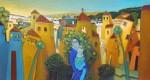 Obras de arte: America : Colombia : Santander_colombia : Bucaramanga : MI PUEBLO NATAL