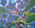 Obras de arte: America : Paraguay : Asuncion : Asuncion-capital : Violetas