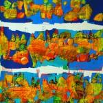 Obras de arte: America : Chile : Region_Metropolitana-Santiago : providencia : Rutas de Piedras que hablan II
