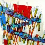 Obras de arte: America : Chile : Region_Metropolitana-Santiago : providencia : Estructura de Obras que Hablan