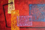 Obras de arte: America : Colombia : Distrito_Capital_de-Bogota : Bogota : En Rojo