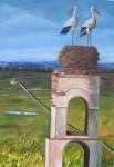 Obras de arte: Europa : España : Castilla_y_León_Palencia : Venta_de_Baños : Haciendo la casa