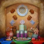 Obras de arte: America : México : Tlaxcala : Tlax : Bodegon
