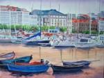 Obras de arte: Europa : España : Galicia_La_Coruña : Coruna : Puerto