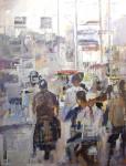 Obras de arte: Europa : España : Catalunya_Barcelona : Manresa : Movimiento en la ciudad