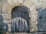 Obras de arte: Europa : España : Catalunya_Lleida : Lleida_ciudad : Puerta antigüa
