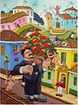Obras de arte: America : Colombia : Santander_colombia : floridablanca : violinista en Do erotico