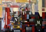 Obras de arte: Europa : España : Principado_de_Asturias : Gijón : DEL CIRCULO AL CUADRADO