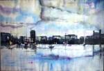 Obras de arte: America : Colombia : Distrito_Capital_de-Bogota : Bogota_ciudad : Mar y Ciudad
