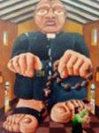 Obras de arte: America : Colombia : Santander_colombia : floridablanca : el cura