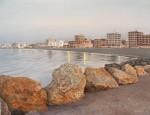 Obras de arte: Europa : España : Valencia : Alicante : Santa Pola. Playa.