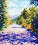 Obras de arte: America : Argentina : Rio__Negro : Cipolletti : Camino de Cordillera