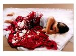 Obras de arte: Europa : España : Valencia : Alicante : El mantón rojo
