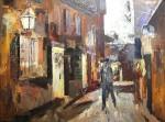 Obras de arte: Europa : España : Catalunya_Barcelona : Manresa : Pedro Saputo entrando de noche en Barbastro