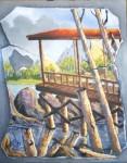 Obras de arte: America : Estados_Unidos : Florida : orlando : Despues de la Tormenta
