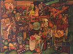 Obras de arte: America : Colombia : Santander_colombia : Bucaramanga : La Feria