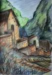 Obras de arte: America : Panam� : Panama-region : BellaVista : casa inca