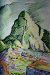 Obras de arte: America : Panam� : Panama-region : BellaVista : machu picchu