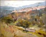 Obras de arte: Europa : España : Catalunya_Barcelona : Manresa : Castellfollit de la Roca