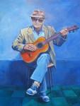 Obras de arte: America : Argentina : Rio__Negro : Cipolletti : Don Godoy: viejo cantor, curandero, alba�il...