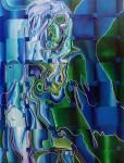 Obras de arte: America : México : Mexico_Distrito-Federal : Coyoacan : BLUE 0902