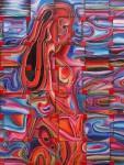 Obras de arte: America : México : Mexico_Distrito-Federal : Coyoacan : EN ROJO 0902