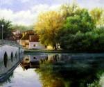 Obras de arte: Europa : España : Catalunya_Girona : olot : Pont de Belâbre