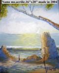 Obras de arte: America : Estados_Unidos : Florida : orlando : Playa Rocosa