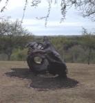Obras de arte: America : Uruguay : Maldonado : Punta_del_Este : Caballos en la ola