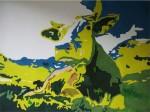 Obras de arte: America : Colombia : Antioquia : Medellín : Vaca lechera