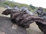 Obras de arte: America : Uruguay : Maldonado : Punta_del_Este : Escultura Equestre