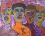 Obras de arte: America : Argentina : Cordoba : Cordoba_ciudad : LOS INMIGRANTES