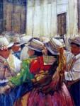 Obras de arte: America : Perú : Lima : SanLuis : Homenaje a la Virgen de las Nieves