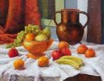 Obras de arte: America : Perú : Lima : SanLuis : Bodegon con frutas