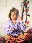 Obras de arte: Europa : España : Andalucía_Sevilla : Dos_Hermanas : chica Indú