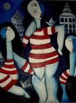 Obras de arte: Europa : España : Catalunya_Barcelona : BCN : tres dones