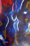 Obras de arte: America : México : Morelos : cuernavaca : AZUL ABSTRACTO