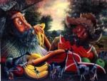 Obras de arte: America : Colombia : Antioquia : Medellín : ob-servantes