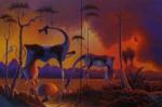 Obras de arte: America : Colombia : Antioquia : Medellín : eclipce-en jardin