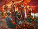 Obras de arte: America : México : Mexico_Distrito-Federal : iztapalapa : El mercado