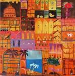 Obras de arte: America : México : Mexico_Distrito-Federal : Coyoacan : HOTEL NARANJA