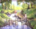Obras de arte: America : Estados_Unidos : Florida : orlando : Puente para dos