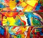 Obras de arte: America : México : Veracruz-Llave : Xalapa : fresco retorno