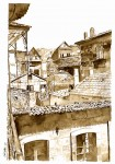 Obras de arte: Europa : España : Galicia_Pontevedra : Redondela : Tellados