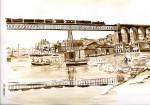 Obras de arte: Europa : España : Galicia_Pontevedra : Redondela : Viaducto de Redondela