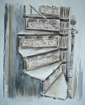 Obras de arte: Europa : España : Galicia_Pontevedra : Redondela : Escada