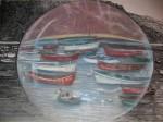 Obras de arte: Europa : España : Canarias_Santa_Cruz_de_Tenerife : Santa_Cruz_Tenerife_ciudad : MI PUEBLO EN UNA BURBUJA