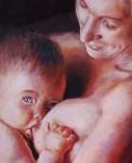 Obras de arte: America : Colombia : Antioquia : Medellín : Maternidad 2